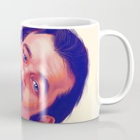 actor Mugs featuring Young Mr. Bill Murray by Thubakabra