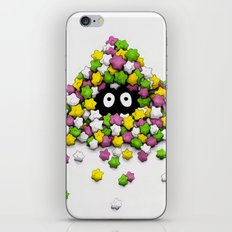 Susuwatari iPhone & iPod Skin