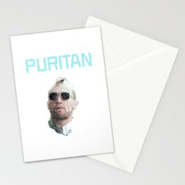 """""""PURITAN"""" - Robert De Niro as Travis Bickle in Taxi Driver Stationery Cards"""