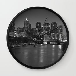 Silly Philly Wall Clock