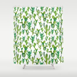 """Somewhere in the mexican desert"" Shower Curtain"