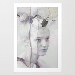 Okra (Minimal) Art Print