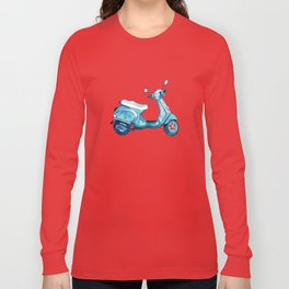 Scooter Away Long Sleeve T-shirt