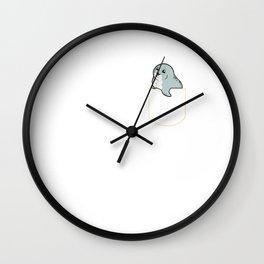 Sea Lion In The Pocket Gift Seal Pocket T-Shirt Wall Clock