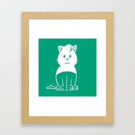 Piuley logo Framed Art Print