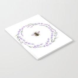 Lavender Bee Notebook
