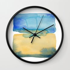 Color Field No. 2 Wall Clock