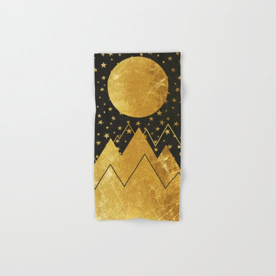 Golden Landscape Hand & Bath Towel