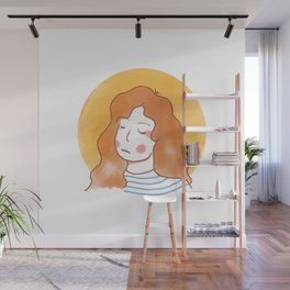 layla Wall Mural