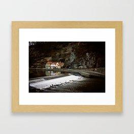 Little Cesky Krumlov Neighbourhood Framed Art Print