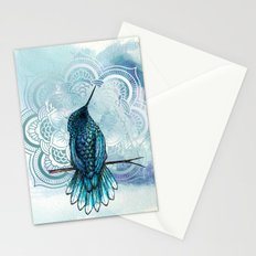 Aquarela hummingbird Stationery Cards