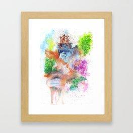 Magical Landscape Art Illustration Framed Art Print