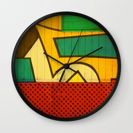 Jamaican Wall Wall Clock