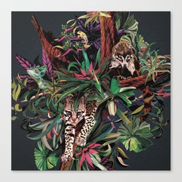 Rainforest corner Canvas Print