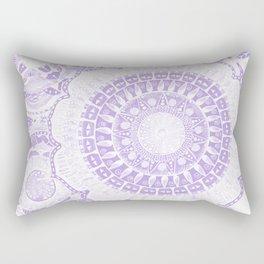 Indian Decoration Vector Rectangular Pillow