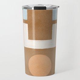 Geometrical balance - minimalist design Travel Mug