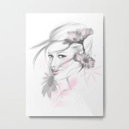 Sabrina Metal Print