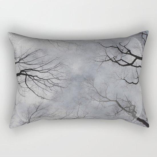 New Moon Rising Rectangular Pillow