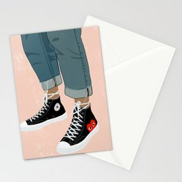 Hidden Heart - All Star Converse Stationery Cards