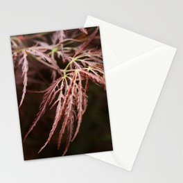 Maple lace leaf Stationery Cards