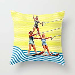 Power Pyramid Throw Pillow