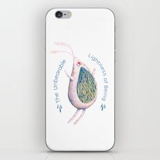 The Unbearable Lightness of Being iPhone & iPod Skin