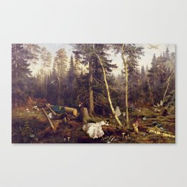 Matter of Course Canvas Print