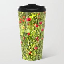 Flanders Poppies Travel Mug