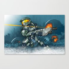HALO / MASTER Ch Canvas Print