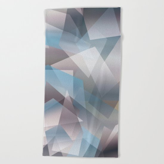 Abstract 209 Beach Towel