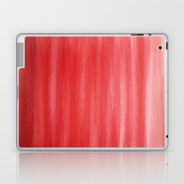 Red- ombre watercolor pattern! Laptop & iPad Skin