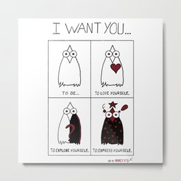 I Want You... Metal Print
