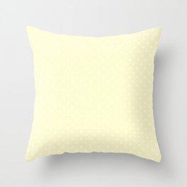 Dots (White/Cream) Throw Pillow