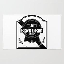 Black Death Ribbon Rug