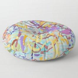 Shamanic Painting 08 Floor Pillow