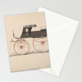 Design for Phaeton, no. 288, from Le Guide du Carrossier,ca. 1870 Stationery Cards