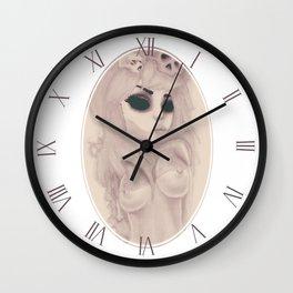 dearpain +Candy Pink Disorder+ Wall Clock