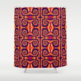 Candy Twist Shower Curtain
