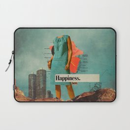 Happiness Here Laptop Sleeve