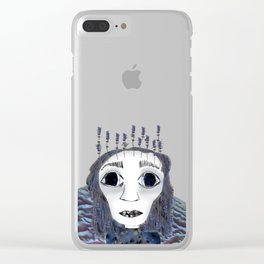 Planet Virgo Clear iPhone Case