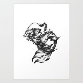 Sea-dragon Male Art Print