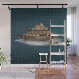 Sailing on a dream Wall Mural
