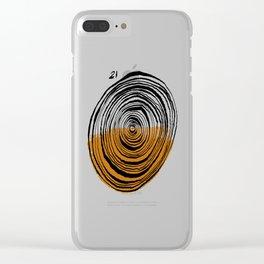 Twenty One Clear iPhone Case