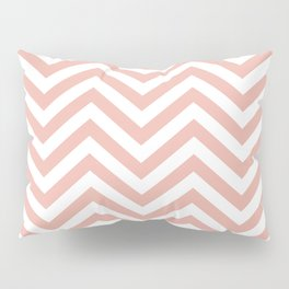 Chevron Coral  - Lovely Sping Color Pattern -  01 Mix & Match Pillow Sham