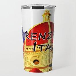 Firenze - Florence Italy Travel Travel Mug