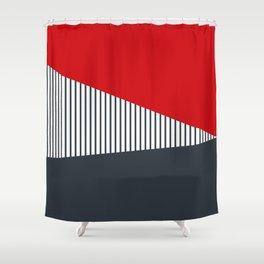 Nautical geometry 6 Shower Curtain