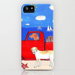 The Salty Dogs iPhone Case