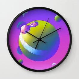 King Kai's Planet Wall Clock