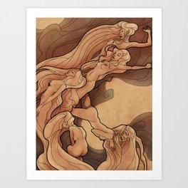 Muses I Art Print