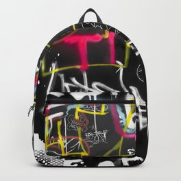 New York Traces - Urban Graffiti Backpack